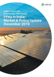 Corporate Renewable PPAs in India