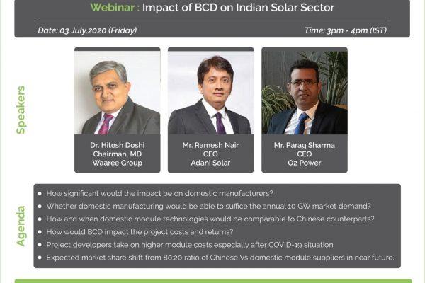 Webinar BCD impact